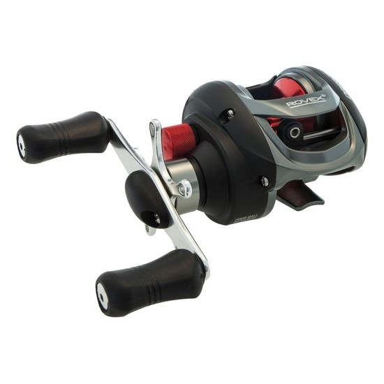Rovex Oberon Right Handed Baitcaster Fishing Reel - Low Profile with 4 Bearings