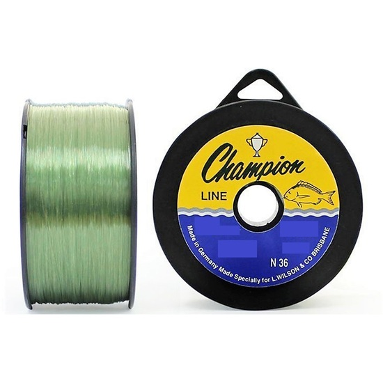 1 Spool of Green Wilson Champion Fishing Line - German Made Monofilament Line