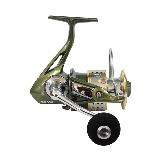 Wilson Magnum Spinning Fishing Reel - Spin Reel with 9+1 Stainless Ball Bearings