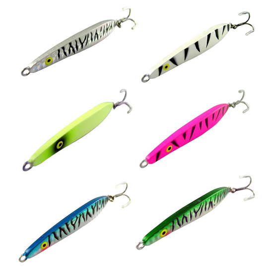 3 Pack Of 75mm Surecatch Metal Lazer Jig 35gm Fishing Lure