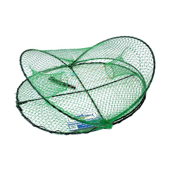 20 x Wilson Folding Opera House Traps with 3 Inch Entry Rings -Green Yabby Nets