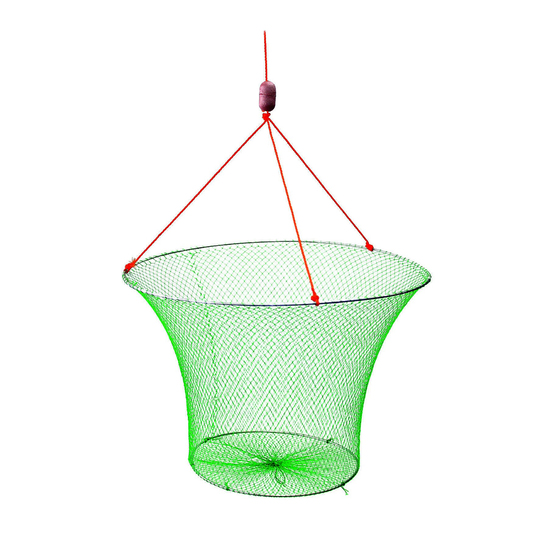 Wilson Double Ring Yabbie Net With 1 Mesh - Drop Net - Red Claw