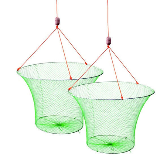 2 X Wilson Double Ring Yabbie Nets With 3/4 Inch Mesh-Drop Net-Twin Pack