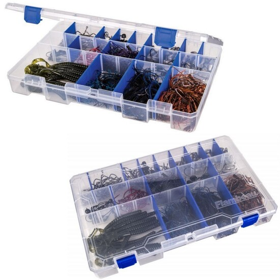 Flambeau 5003 25 Compartment Tuff Tainer Fishing Tackle Tray with Zerust