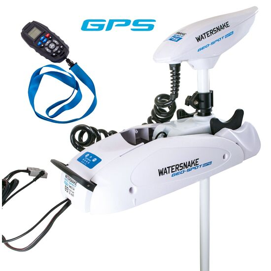 Watersnake Geo Spot 65/54 Remote Control GPS Bow Mount Electric Motor-65lb Thrust