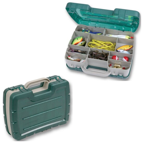 Flambeau 7220 Small Double Sided Fishing Tackle Box - Double Satchel