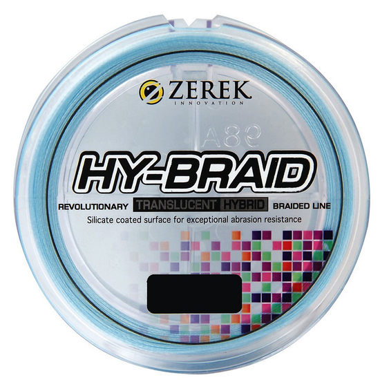 300m Spool of Blue Zerek Hy-Braid Fishing Line-Translucent Braided Fishing Line