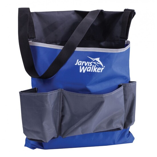 Jarvis Walker Wading Bag with Three Large Front Pockets - Surf Fishing Bag