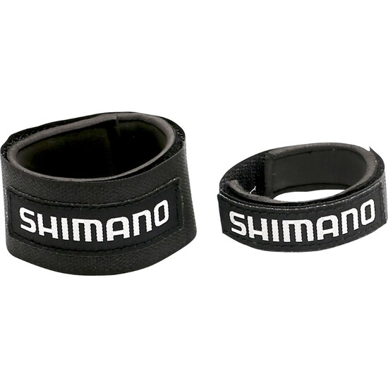 2 x Shimano Fishing Rod Wraps - Secures Fishing Rods Together - Rod Straps