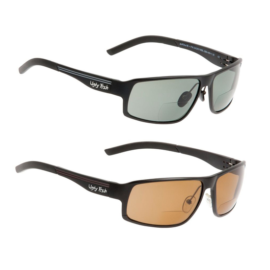 Ugly Fish Avalanche Bifocal PN24203 Polarised Sunglasses - Adult Fishing Sunnies