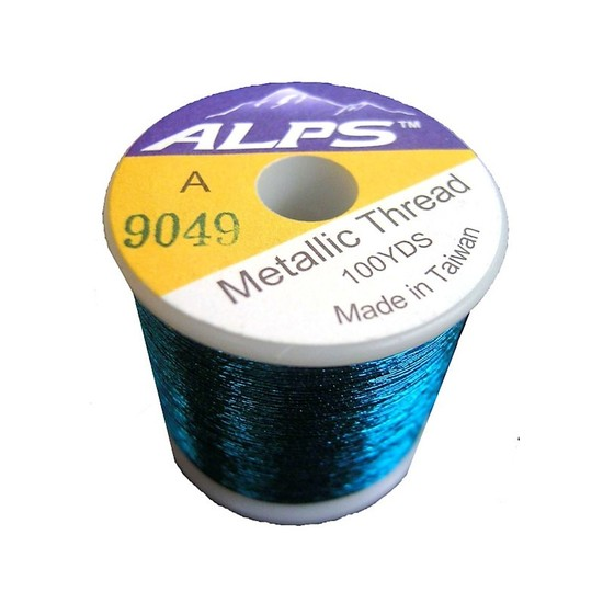 Alps 100yds of Metallic Blue Rod Wrapping Thread-Size A (0.15mm) Thread