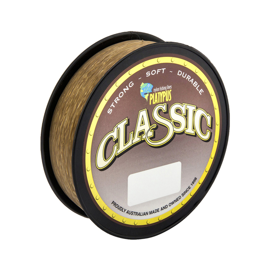 300m of 25lb Brown Platypus Classic Mono Fishing Line