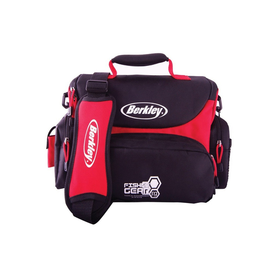 Berkley Maxi Soft Fishing Tackle Bag With 4 Tackle Boxes and Multiple Pockets