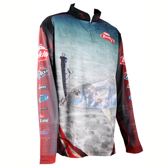 Berkley Whiting Long Sleeve Tournament Fishing Shirt - Dye Sublimated