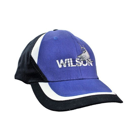 Wilson Embroidered Fishing Cap With Adjustable Velcro Strap