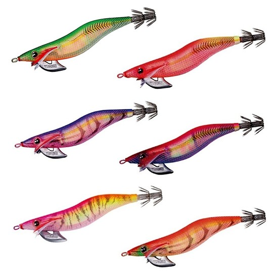 105mm Yo-Zuri Aurie-Q RS Squid Jig Lure - Size 3.5 Egi Lure