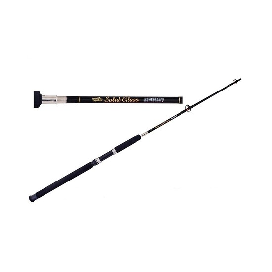 Jarvis Walker Hawkesbury 5ft Solid Glass Fishing Rod - 4-10kg 2 Pce Boat Rod