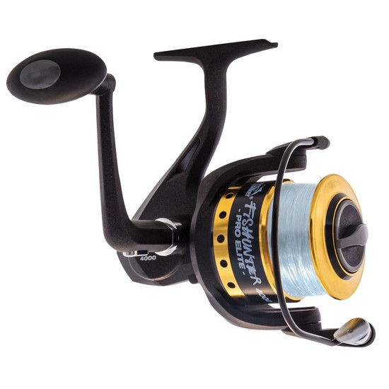 Jarvis Walker Fishunter Pro Elite Spinning Fishing Reel Spooled with Line