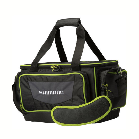 Shimano Medium Size Fishing Tackle Bag with 2 Tackle Boxes