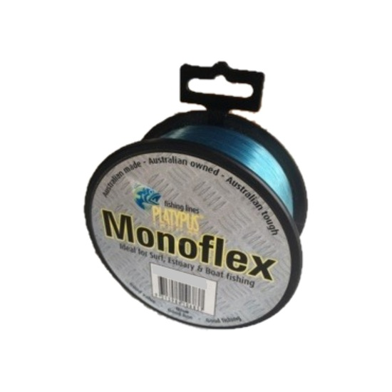 500m Spool of Blue Platypus Monoflex Mono Fishing Line - Australian Made Line