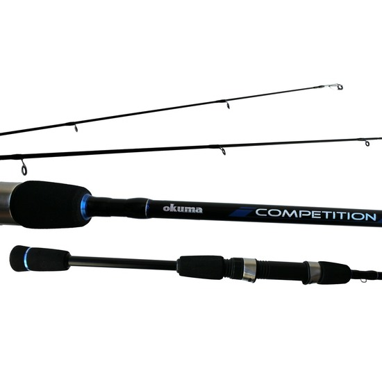 Okuma Competition 2 Piece Graphite Spin Rod with Split Grip Butt
