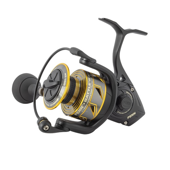 Penn Battle III Spinning Fishing Reel - Spin Reel with 5 Sealed Ball Bearings