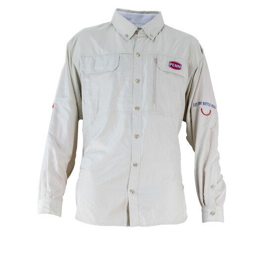 Penn Vented Long Sleeve Fishing Shirt - Moisture Wicking Fishing Jersey