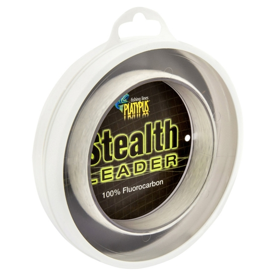 100m Spool of Platypus Stealth Fluorocarbon Leader Fishing Line