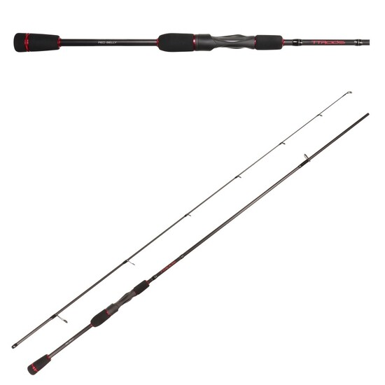 7ft TT Rods Red Belly 4-8kg Fishing Rod - 2 Pce Split Butt Spin Rod