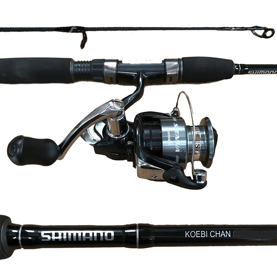 Shimano Koebi Chan/Sienna Fishing Rod and Reel Combo - 2 Piece Spin Combo