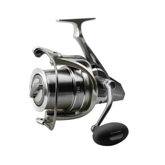 Okuma Surf 8K Spinning Fishing Reel - 6 Ball Bearing Spin Reel with 18kg Drag