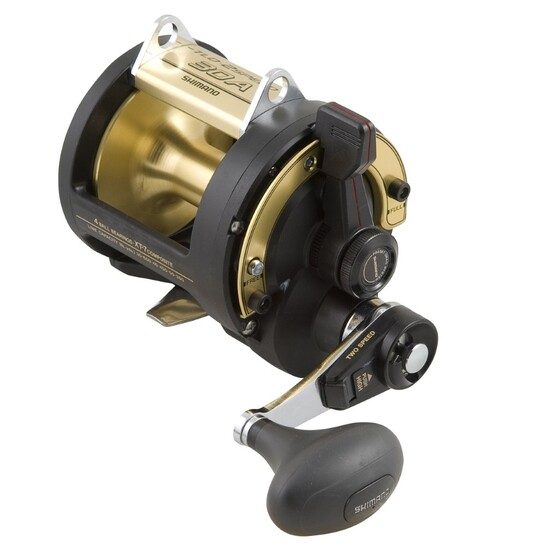 Shimano TLD 2 Speed 30A Overhead Game Reel with Lever Drag
