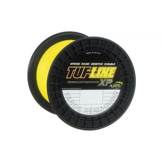 300yd Spool of Yellow Tuf-Line XP Braided Fishing Line