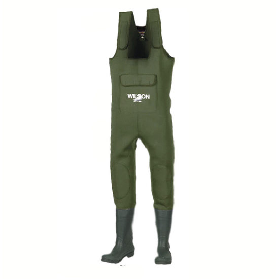 Wilson Neoprene Chest Waders with Oversized Chest Pocket