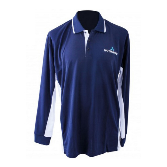 Watersnake Long Sleeve Fishing Shirt with Collar-Comfy, Light Fishing Jersey