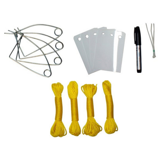Crab Rope, Baitclips and Crabbing ID Kit - Crabbing Accessories Bundle