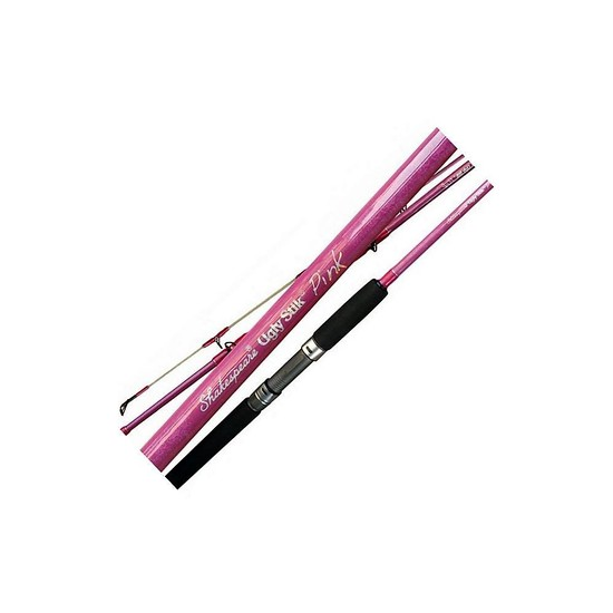 "Ugly Stik Pink 1-3kg 3'6"" 1 Pce Fishing Rod-Spin-Shakespeare-Fuji Guides"