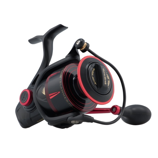 Penn Slammer 3 6500HS High Speed Spinning Fishing Reel - 8 Ball Bearing Spin Reel
