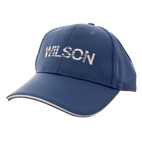 Wilson Cotton Embroidered Fishing Cap With Adjustable Buckle Strap