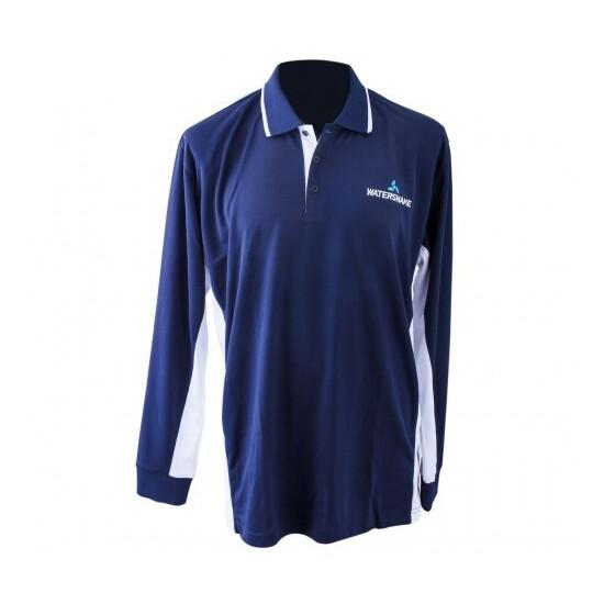 56da8470 Watersnake Long Sleeve Fishing Shirt with Collar-Comfy, Light Fishing Jersey
